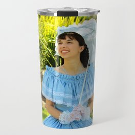 Southern Belle Portrait Travel Mug