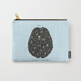 Your Brain On Video Games Carry-All Pouch