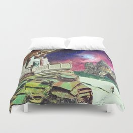 Metaphysical Collapse Duvet Cover