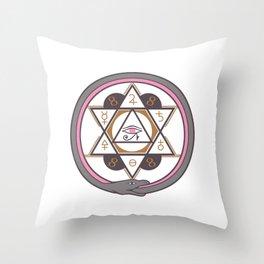 Archaic Throw Pillow