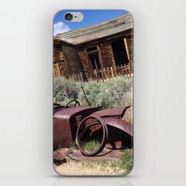Rusty memories iPhone Skin
