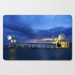 Lightning in Venice Cutting Board