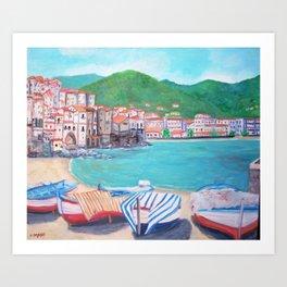 Cefalu', Italy Art Print