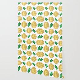 Turkish Lira pattern background. Wallpaper