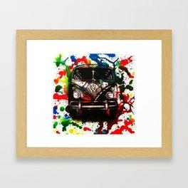 Campa Splash Framed Art Print
