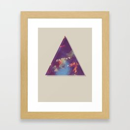 changing leaves Framed Art Print
