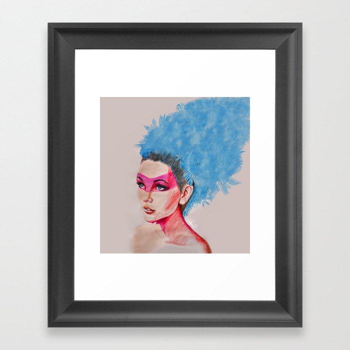 Princess of See Framed Art Print