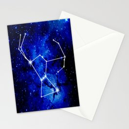 Orion Constellation Star Map Stationery Cards