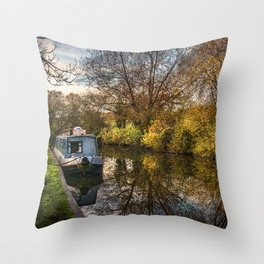 An Autumn Afternoon At Hungerford Throw Pillow