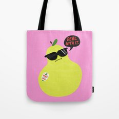 Pear Don't Care Tote Bag