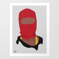 Yeezus Art Print