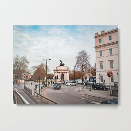 Wellington Arch - London Metal Print