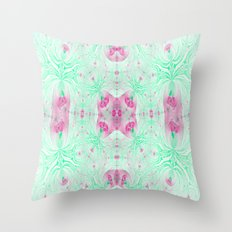 What Can I Say..It's Pink and Green! Throw Pillow