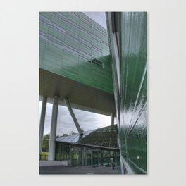 Green Architecture Canvas Print