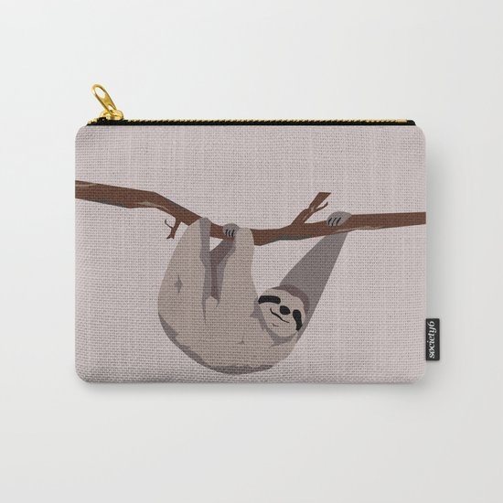 Sloth just hangin' Carry-All Pouch