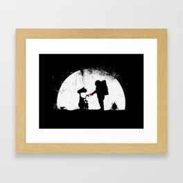 Old Friends {without text}  Framed Art Print