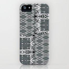 Plaid in Full (T-shirt) iPhone Case