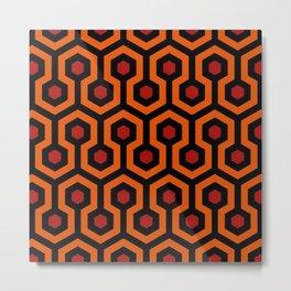 Overlook Hotel Carpet Metal Print