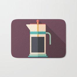 French Press Coffee Bath Mat