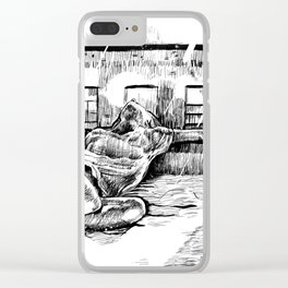I can hear the sirens Clear iPhone Case