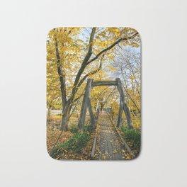 Autumn Leaves, Country Victoria Bath Mat