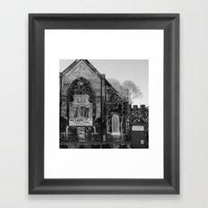 Abandoned Church in Chicago Framed Art Print
