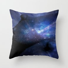 Galaxy Breasts / Galaxy Boobs 2 Throw Pillow