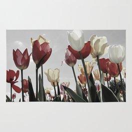Tulip flowers Rug