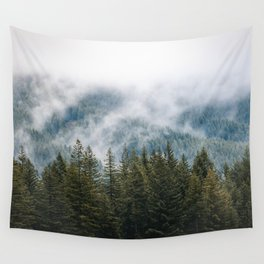 PNW Forest Adventure - Nature Photography Wall Tapestry