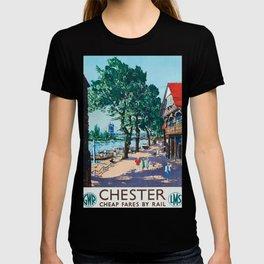 Chester Vintage Travel Poster T-shirt