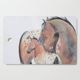 Mother's Love Appaloosa Horses Cutting Board