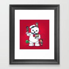 Puft Buddies Framed Art Print