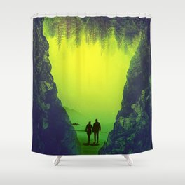 Toxic Forestry Together Shower Curtain