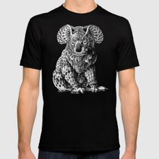 Koala Black Mens Fitted Tee LARGE
