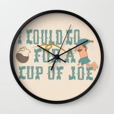 Cup o' Joe Wall Clock