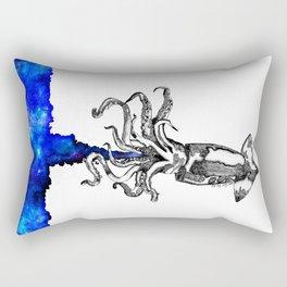Space squid Rectangular Pillow