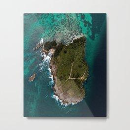 La Farola Island Metal Print