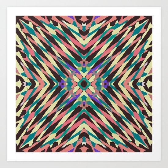 hidden circle Art Print