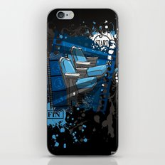 ALONE IN THE DARK iPhone & iPod Skin