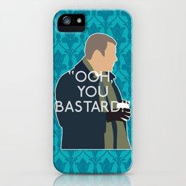 The Empty Hearse - Greg Lestrade iPhone Case