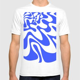Swirly Whirly: Abstract Pop Art Painting by Bruce Gray T-shirt