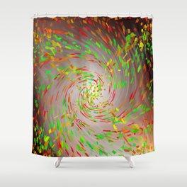 Colour Tornado Shower Curtain