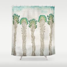 Amazon Trees Shower Curtain