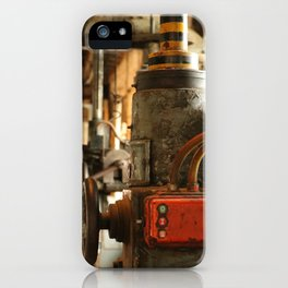 Heavy Industry - Old Machines iPhone Case