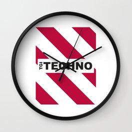 Thank God is Techno Wall Clock