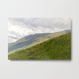 Umbrian hills Italy Metal Print
