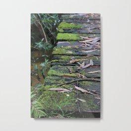 Mossy Bridge Metal Print
