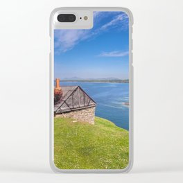 Fisherman`s Hut Clear iPhone Case
