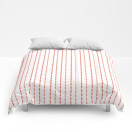 Pink Stitches Comforters