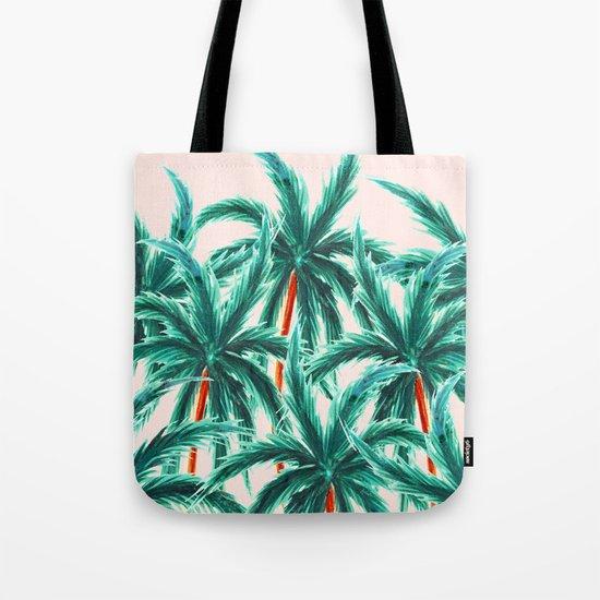 Coconut Trees #society6 #decor #buyart Tote Bag